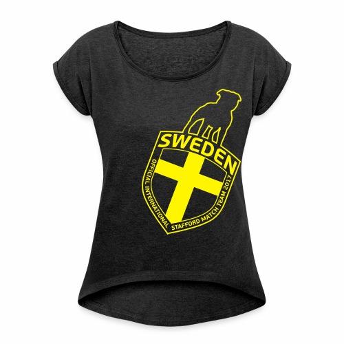 SWE ISM TEAM 2017 WOMEN'S ANGLE - T-shirt med upprullade ärmar dam