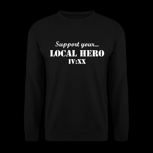 LIMITED IV:XX Support Your Local Hero Crewneck - Herrtröja