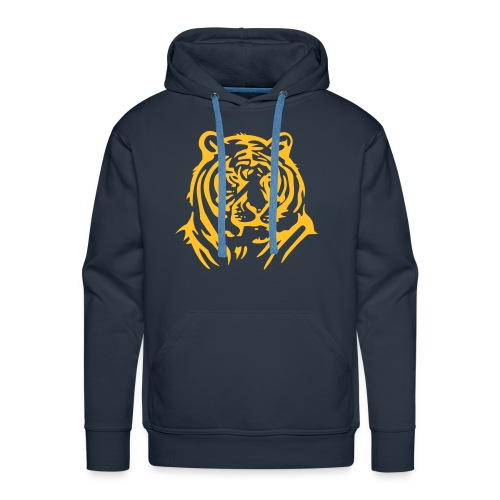 Sweat the tiger - Sweat-shirt à capuche Premium pour hommes