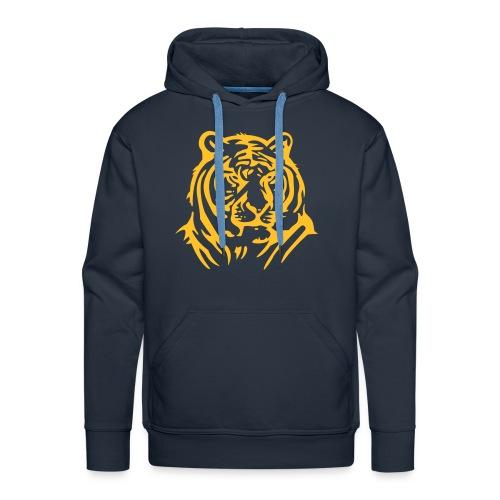 Sweat the tiger - Sweat-shirt à capuche Premium pour hommes