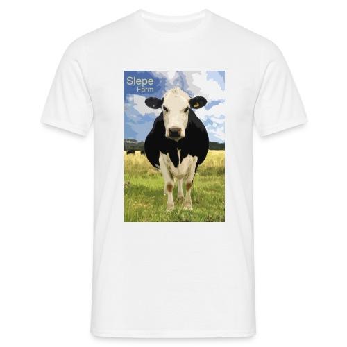 Slepe Farm Cow Tshirt - Men's T-Shirt