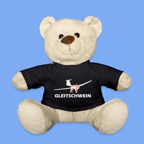 Segelflugzeug Geschenk - Gleitschwein - Teddy Bear