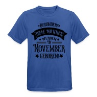 Geboren Im November Geburtstag Mann T Shirts