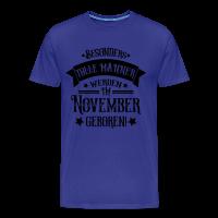 Geboren im November Geburtstag Mann T-Shirts