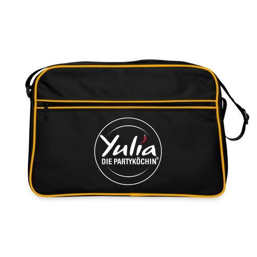 Retrotasche mit Logo Yulia die Partyköchin - Retro Tasche