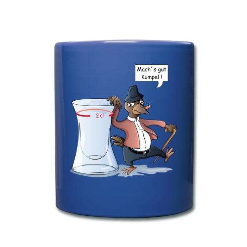 Schnapsdrossel - Tasse farbig - Tasse einfarbig