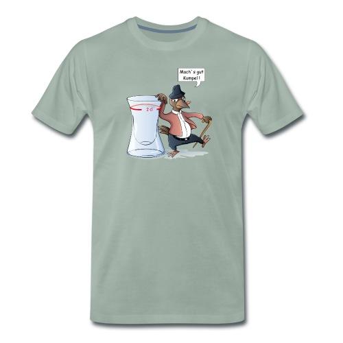Schnapsdrossel - Männer Premium T-Shirt - Männer Premium T-Shirt