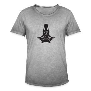 Krijg nou de meditering (heren) - Men's Vintage T-Shirt