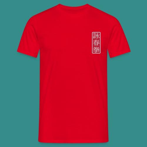 Wing Chun - rot - Männer T-Shirt