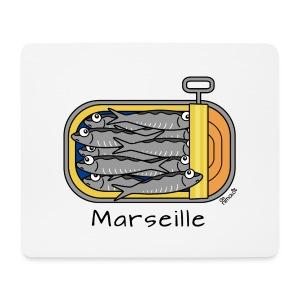 Tapis de soiris Boîte à Sardines, Marseille - Tapis de souris (format paysage)