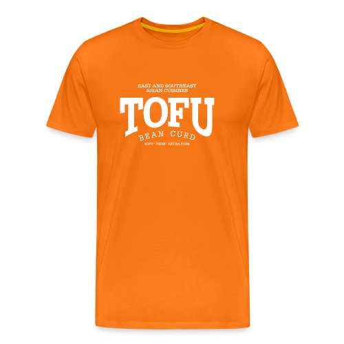 Tofu (white) - Männer Premium T-Shirt