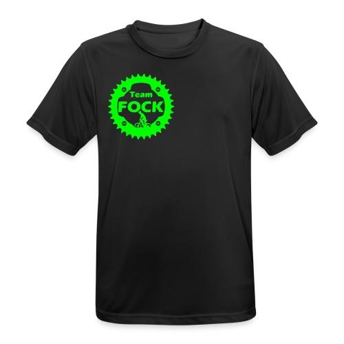 Team FOCK ultralet sports-T-shirt  - Herre T-shirt svedtransporterende