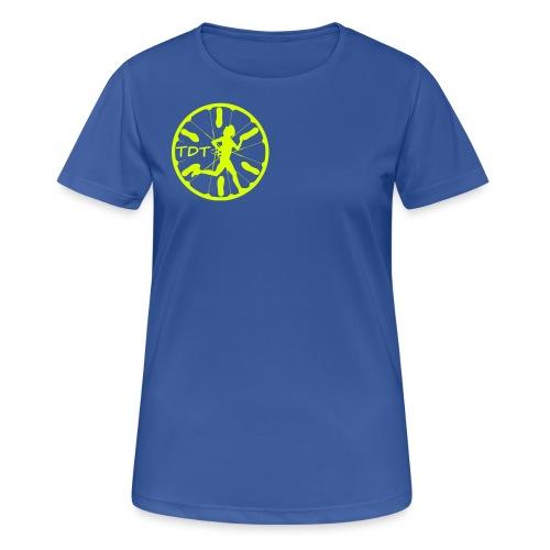TDT ultralet sports T-Shirt (Dame model) - Dame T-shirt svedtransporterende