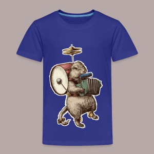Prairie Dog One Man Band - Kids' Premium T-Shirt