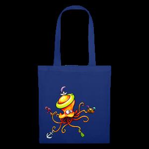 cloth bag octopus - Stoffbeutel
