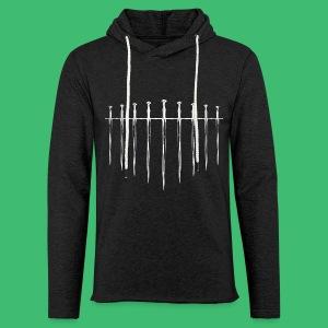 Swords - Leichtes Kapuzensweatshirt Unisex