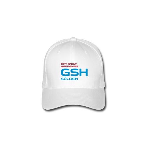 Flexfit Baseballkappe GSH logo vorne - Flexfit Baseballkappe