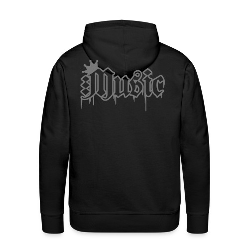 mens music hoodie - Men's Premium Hoodie