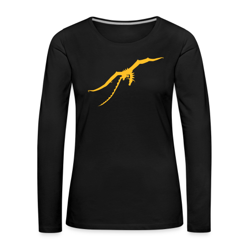 Damen Langarm-Shirt ohne Schriftzug - Frauen Premium Langarmshirt