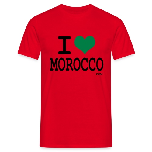 I LOVE MOROCCO - T-shirt Homme