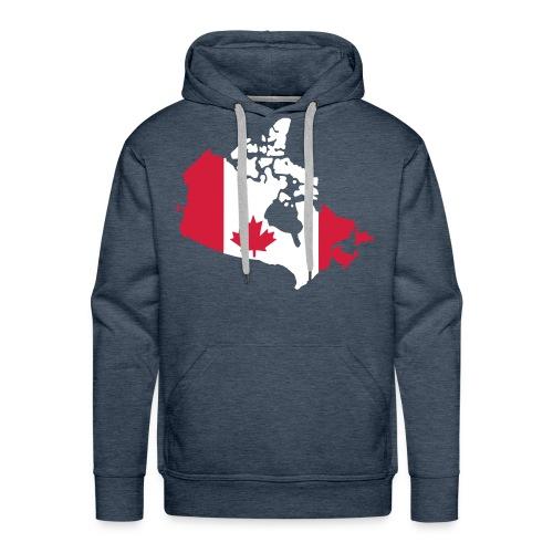canada genser - Premium hettegenser for menn