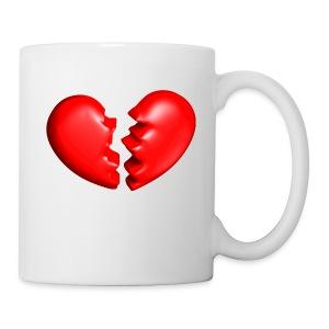 Heart'shirt - Mug blanc