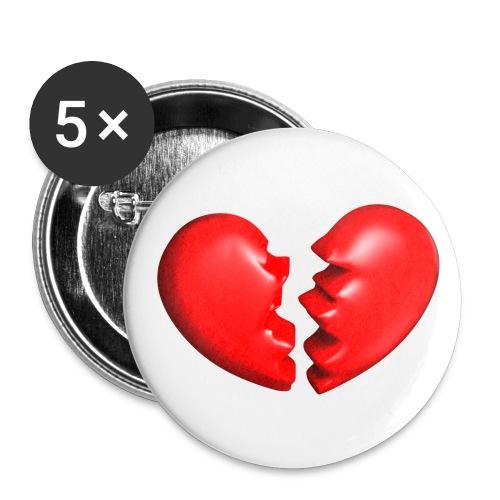 Heart'shirt - Badge moyen 32 mm
