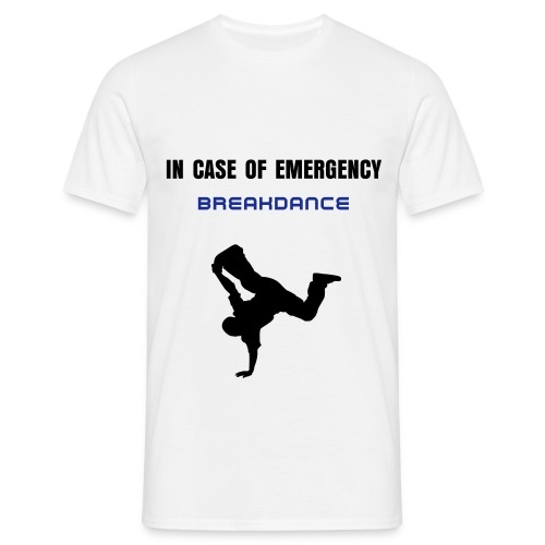 EMREGENCY BREAKDANCE - Men's T-Shirt