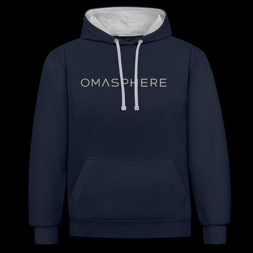 Omasphere - Sweat-shirt contraste