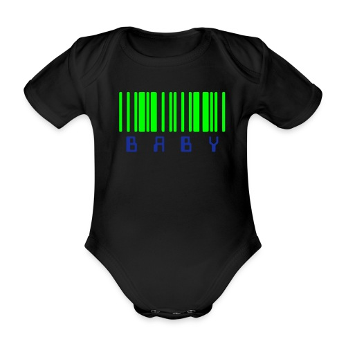 baby - Organic Short-sleeved Baby Bodysuit