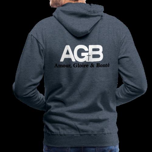 81269732944e9 T-SHIRT AMG - Sweat-shirt à capuche Premium pour hommes