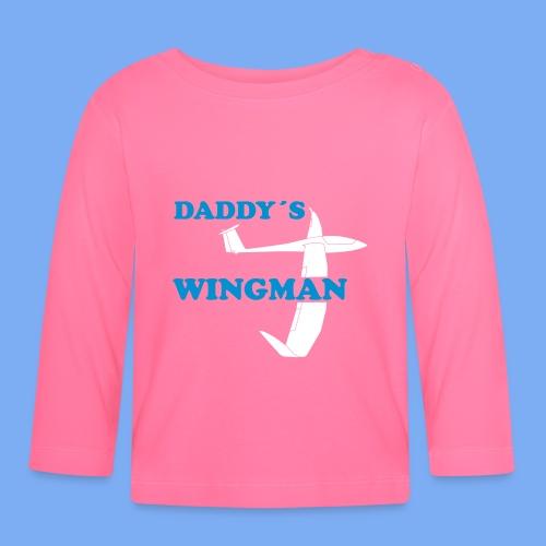 Daddy´s Wingman Geschenk Sport Segelflieger - Baby Long Sleeve T-Shirt