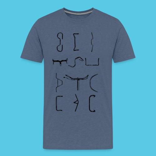 Lenker - Männer Premium T-Shirt