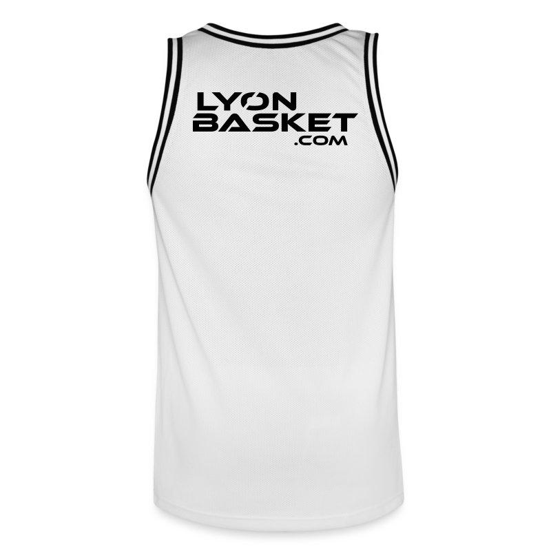 Maillot de Basket Blanc - Maillot de basket Homme