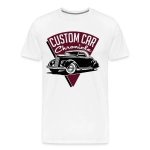 Custom Car Chronicle 36  A (for Light shirts) - Men's Premium T-Shirt