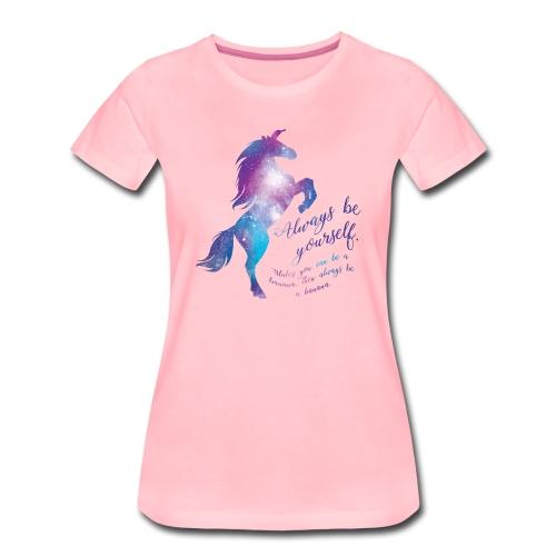 Unicorn vrouwen premium - Vrouwen Premium T-shirt