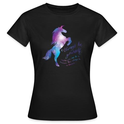 Unicorn vrouwen t-shirt - Vrouwen T-shirt