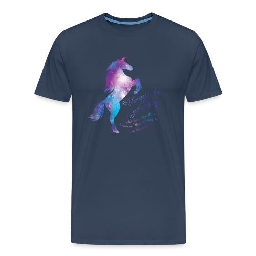 Unicorn mannen premium - Mannen Premium T-shirt