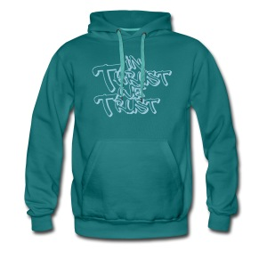 in thrust we trust - Männer Premium Hoodie