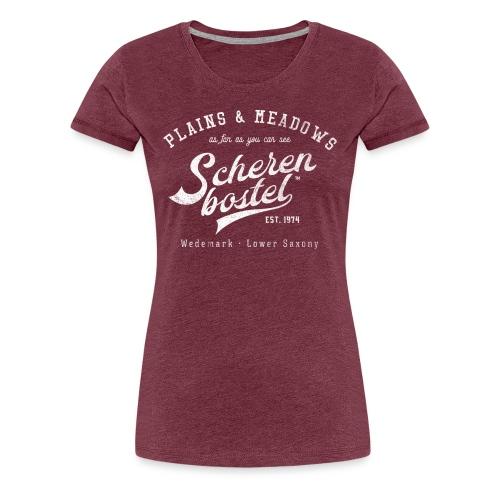 Damen T-Shirt Scherenbostel - Frauen Premium T-Shirt