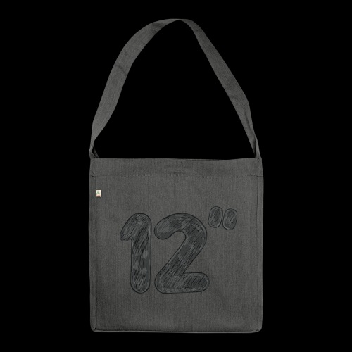 12 Inch - Shoulder Bag made from recycled material