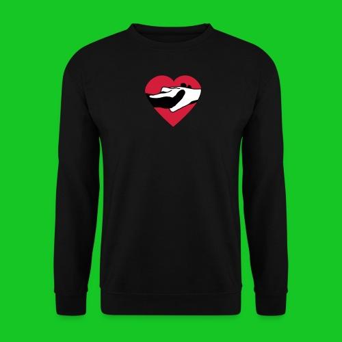 H.H. mannensweater zwart - Mannen sweater
