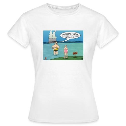 Contradico nucléaire2 femme - T-shirt Femme