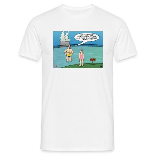 Contradico nucléaire2 homme - T-shirt Homme