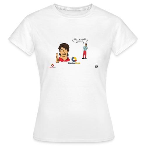 Contradico contrefaçon femme - T-shirt Femme