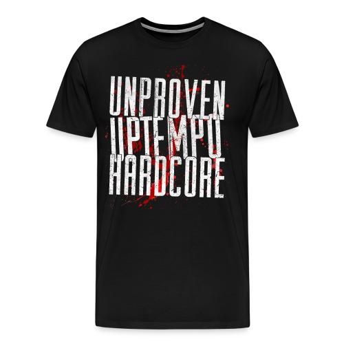 Unproven - Uptempo  - T-shirt (Round neck) - Only Front - Mannen Premium T-shirt