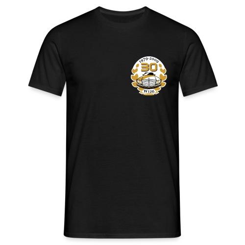 Jubiläums-Shirt 30 Jahre W126 schwarz - Men's T-Shirt