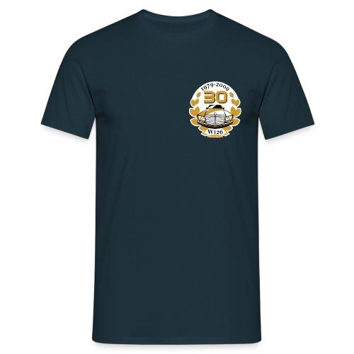 Jubiläums-Shirt 30 Jahre W126 dunkelblau - Men's T-Shirt