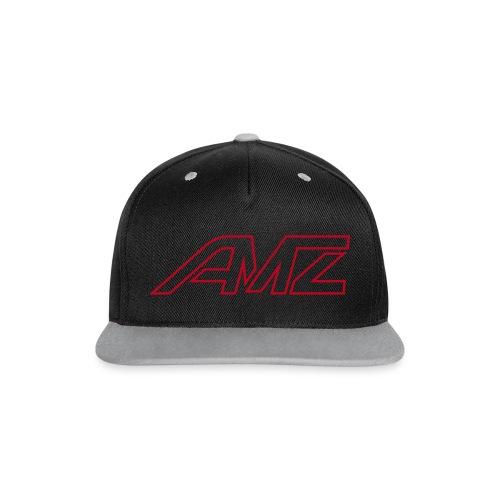 AMZ flat cap grey - Kontrast Snapback Cap