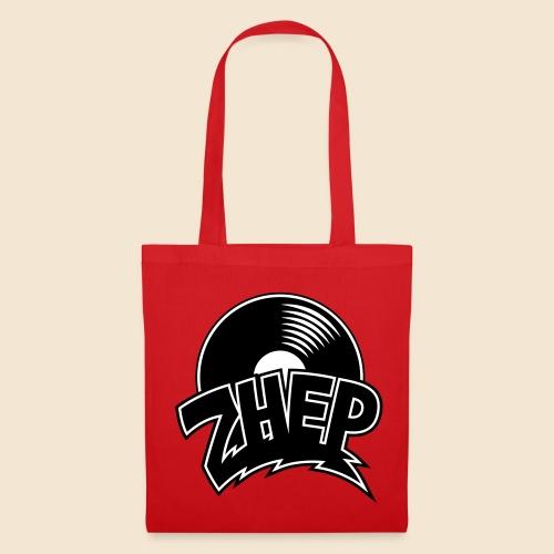 ZHEP Stoffbeutel / 2-farbiger digital Direktdruck schwarz/weiss - Stoffbeutel